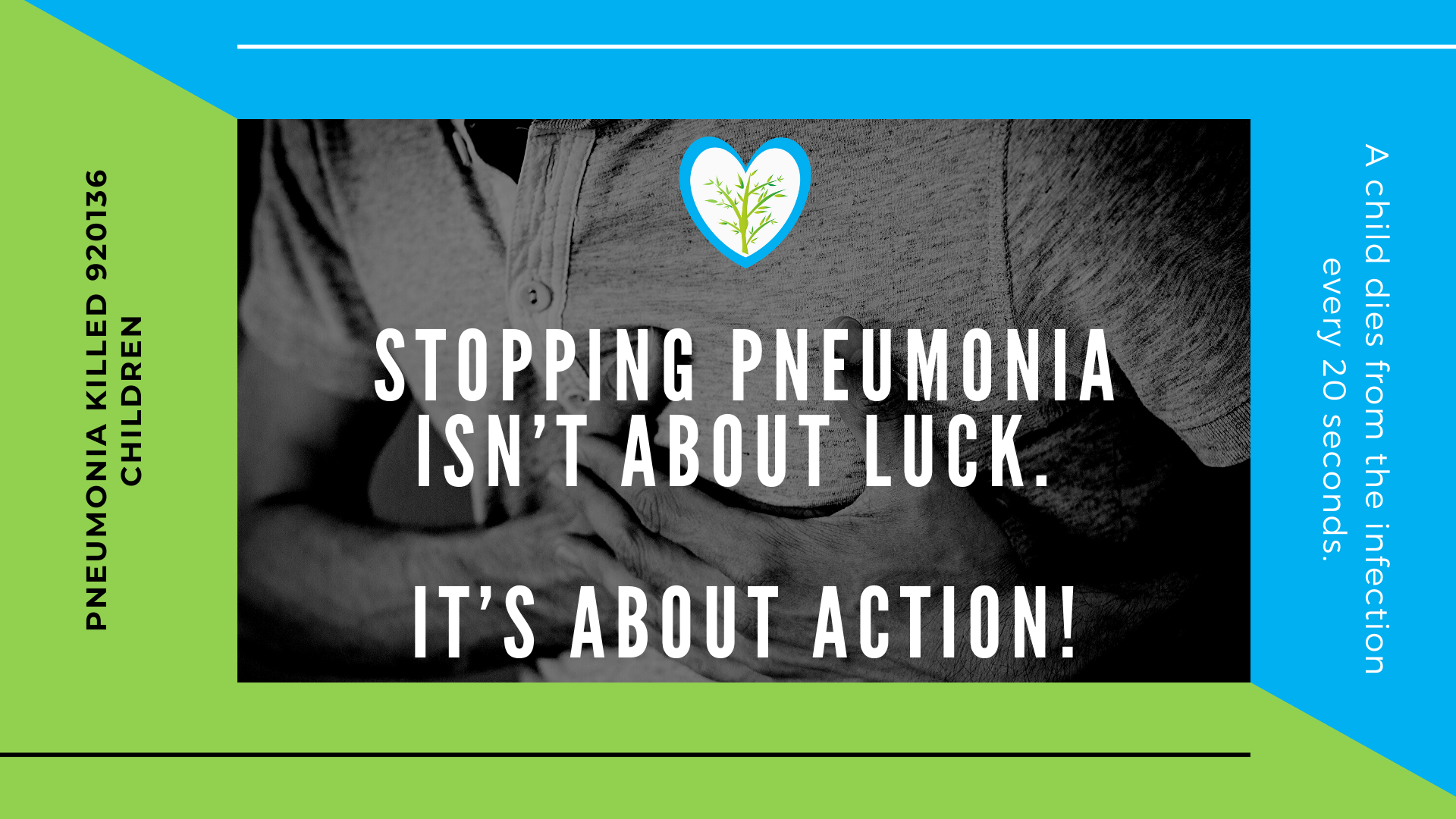 Stopping pneumonia isn't about luck. It's about action!